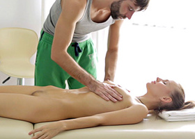 Russian mate was hired as masseur to elite salon