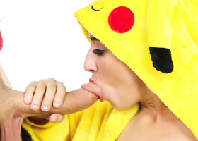 Frolicsome Pikachu caught and wildly fucked