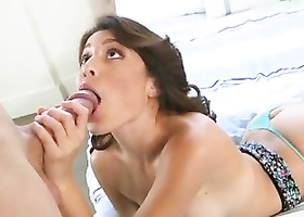 Girl feels great being fucked in doggystyle