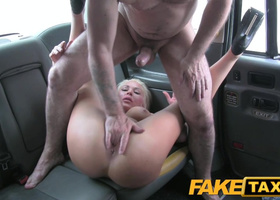 Wanton cougar let cabby sleep with her on backseat