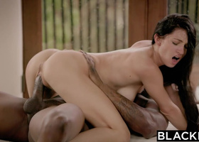 BLACKED First Big Black Cock For Cyrstal Rae
