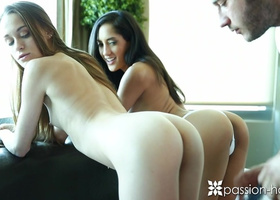 Passion-HD - Teens Chloe Amour and Kacy Lane