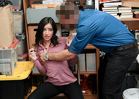 Tanned Latina banged hard in a very violent scene